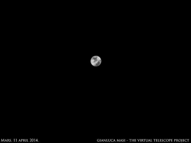 Mars: 11 April 2014
