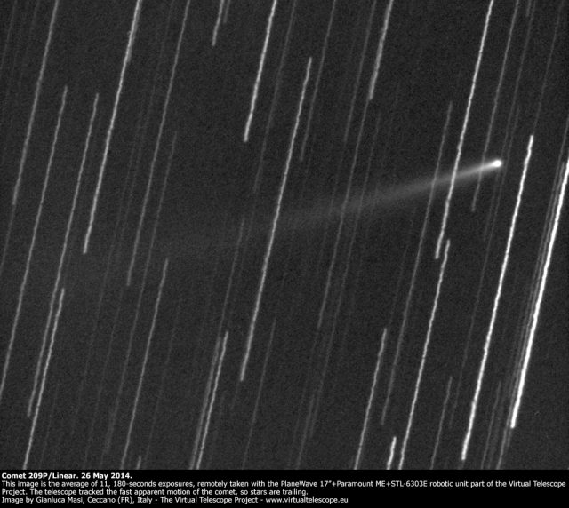 Comet 209P/Linear: 26 May 2014