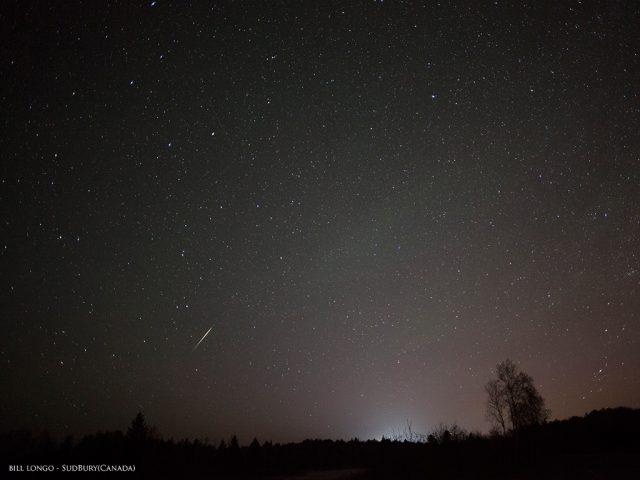 Camelopardalids - image by Bill Longo, Sudbury, Canada