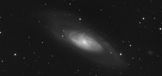 Messier 106 and Supernova SN 2014bc: 29 May 2014