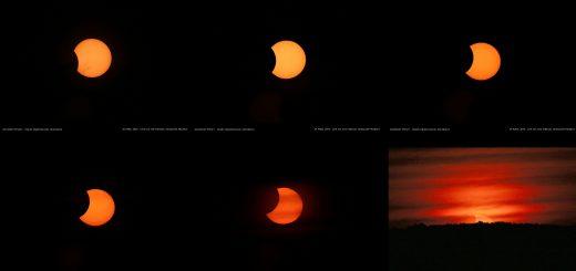 29 Apr. 2014 Solar Eclipse: a souvenir image