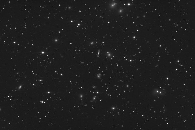Abell 2151: a long exposure unveiling countless galaxies