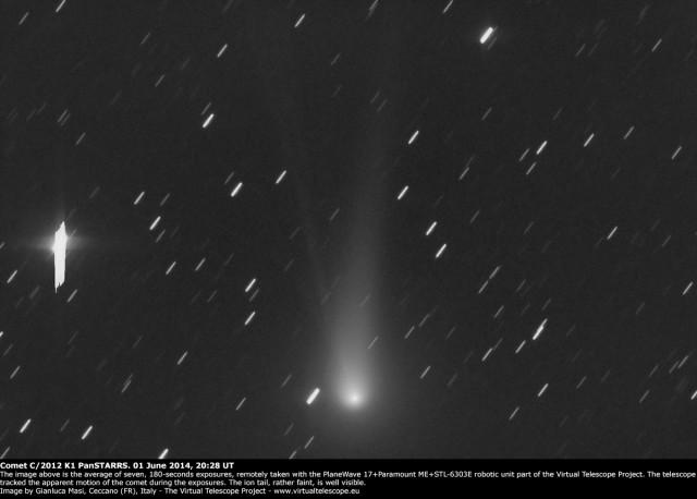 Comet C/2012 K1 - PanSTARRS: 1 June 2014