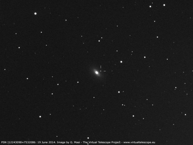 PSN J12243098+7532086 in NGC4386