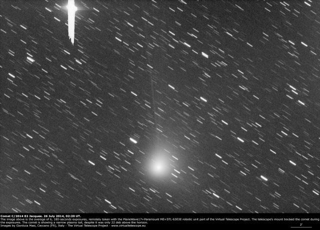 Comet C/2014 E2 Jacques: 26 July 2014