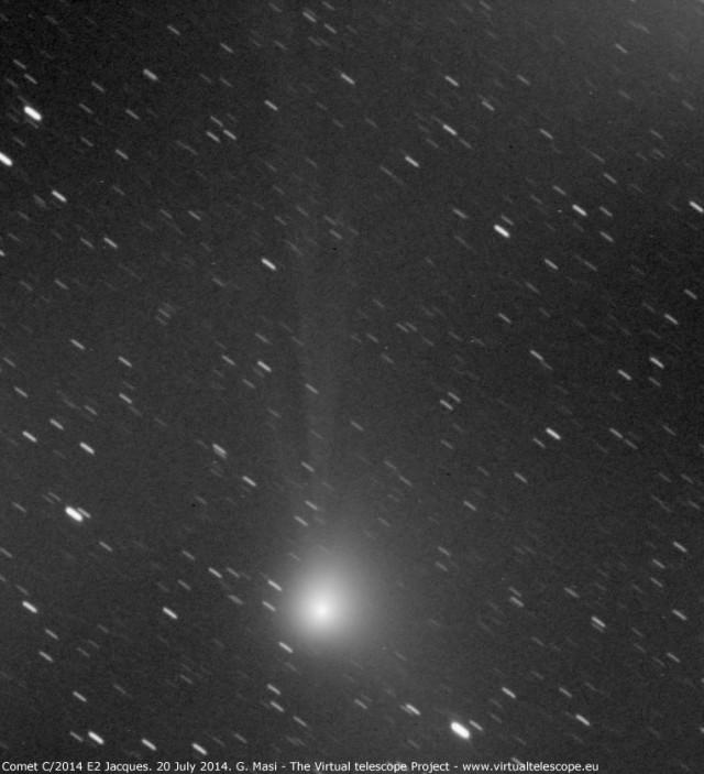Comet C/2014 E2 Jacques: 20 July 2014