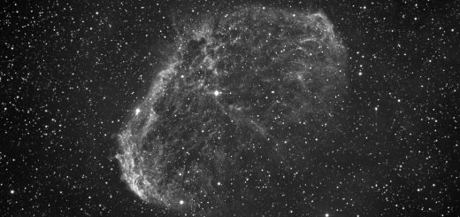 "NGC 6888, the ""Crescent"" nebula"