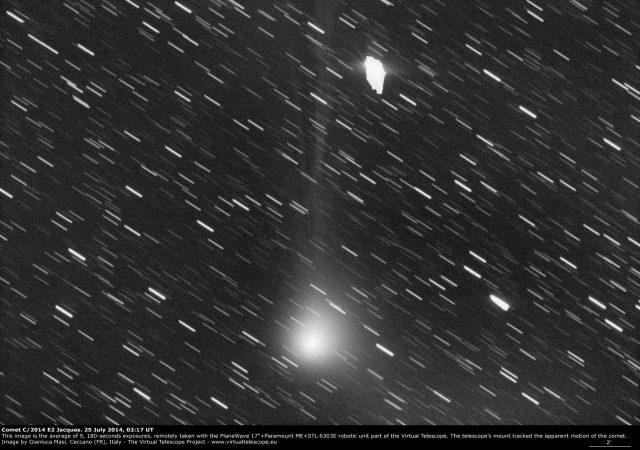 Comet C/2014 E2 Jacques: 25 July 2014
