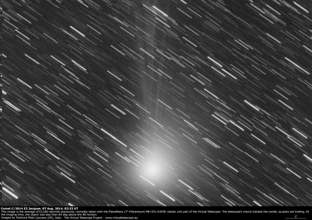 Comet C/2014 E2 Jacques: 7 Aug. 2014