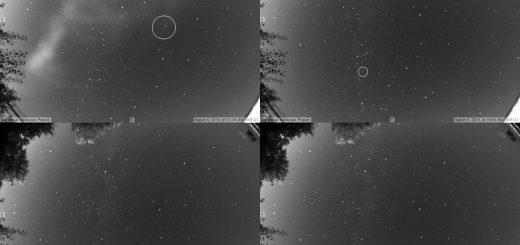 Perseids 2014: some meteors - 6 Aug. 2014