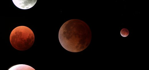 8 October 2014 Total Lunar Eclipse: poster