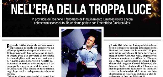 """""""La Provincia"""" 8 settembre 2014: pag. 1"""
