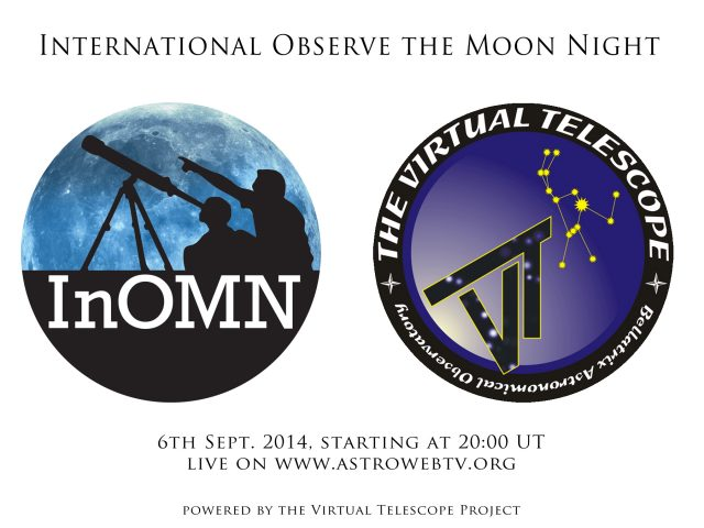 International Observe the Moon Night: 6 Sept. 2014
