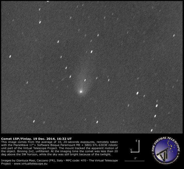 Comet 15P/Finlay: 19 Dec. 2014