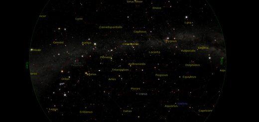 Star Chart: 15 Dec. 2014, 20:00 PM for (13°E,41°N)