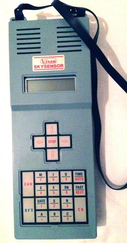 The Vixen Skysensor microcomputer (1984) of the author