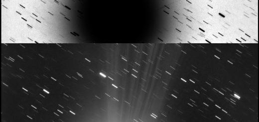 Comet C/2014 Q2 Lovejoy: 25 Jan. 2015