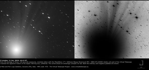 Comet C/2014 Q2 Lovejoy: 11 Jan. 2015