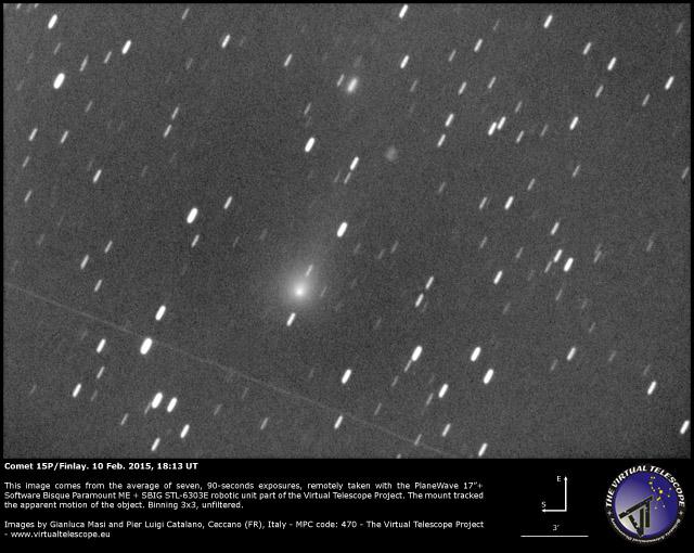 Comet 15P/Finlay: 10 Feb. 2015