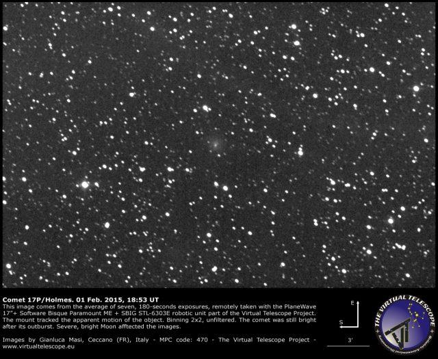 Comet 17P/Holmes: 01 Feb. 2015