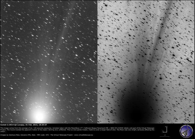 Comet C/2014 Q2 Lovejoy: 01 Feb. 2015