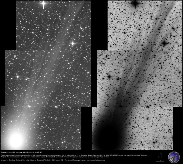 Comet C/2014 Q2 Lovejoy: 11 Feb. 2015