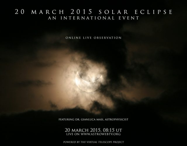 20 March 2015 Solar Eclipse: poster