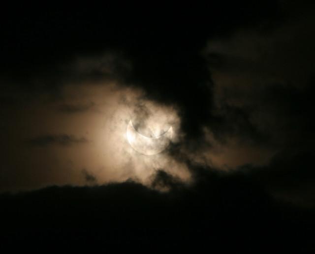 Eclissi Parziale di Sole del 4 gennaio 2011