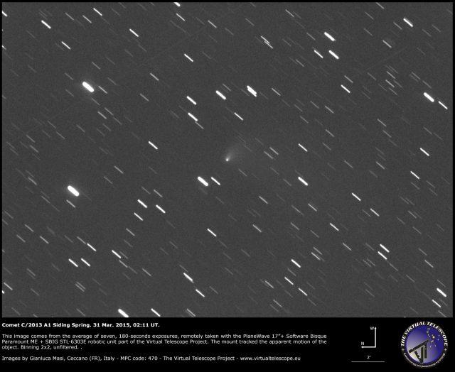 Comet C/2013 A1 Siding Spring: 31 Mar. 2015