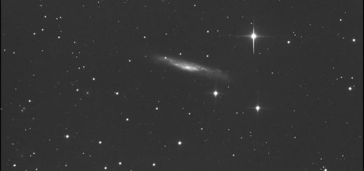 NGC 3079 and PSN J10011805+5546169: 09 Mar. 2015