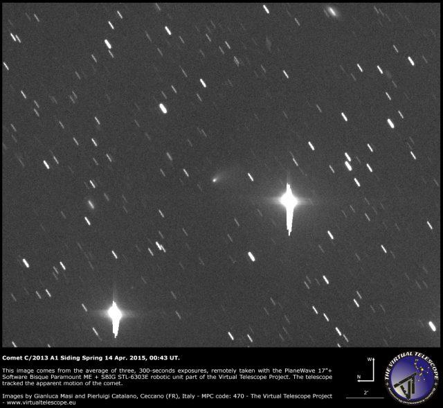 Comet C/2013 A1 Siding Spring: 14 Apr. 2015