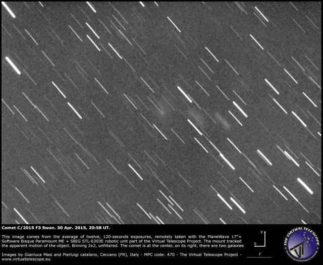 Comet C/2015 F3 Swan: 30 Apr. 2015