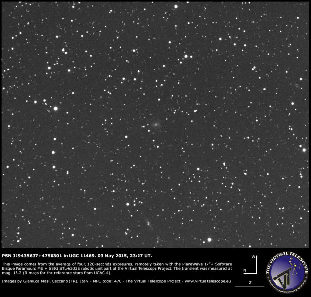 PSN J19435637+4758301 in UGC 11469: 3 May 2015