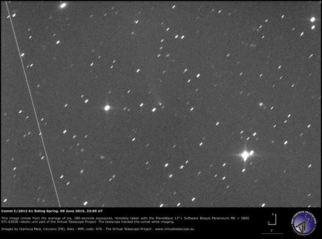 Comet C/2013 A1 Siding Spring: 09 June 2015