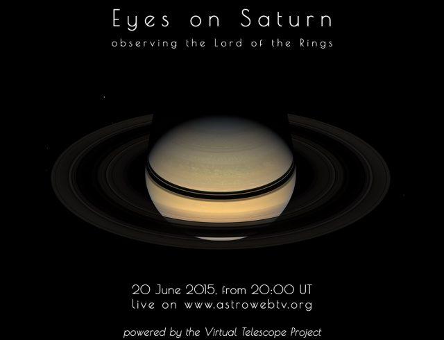 """Eyes on Saturn"": online event (20 June 2015)"