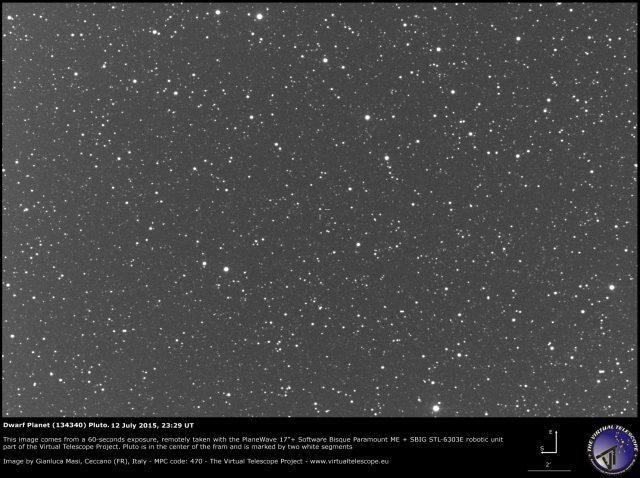 Dwarf Planet (134340) Pluto: 12 July 2015