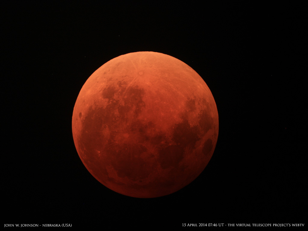 Eclissi totale di Luna del 15 aprile 2014