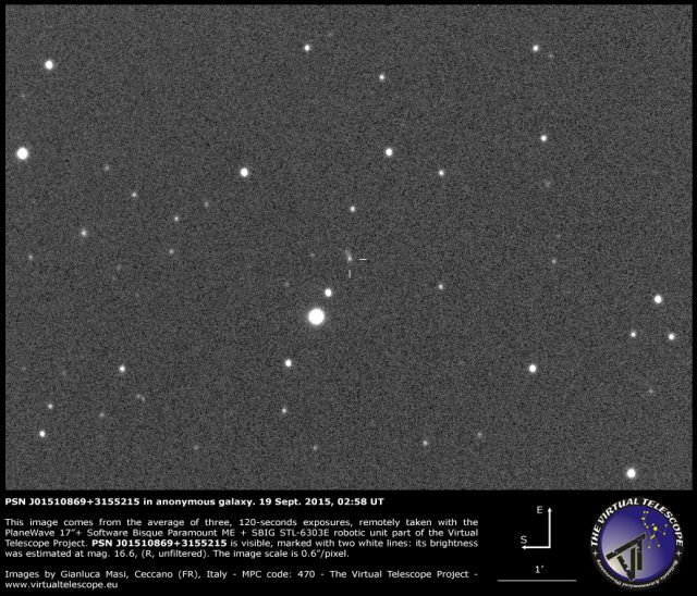 PSN J01510869+3155215 in anonymous galaxy: 19 Sept. 2015