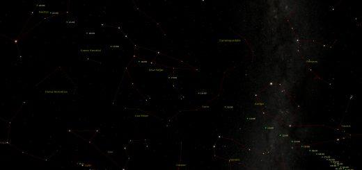 Potentially Hazardous Asteroid 2015 TB145: star chart for Rome (31 Oct. 2015 - 01 Nov. 2015)