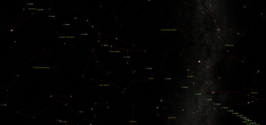 Potentially Hazardous Asteroid 2015 TB145: star chart for Rome (31 Oct. 2015 - 01 Nov. 2015)