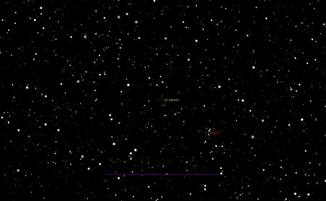 KIC 8462852: mid-field of view map