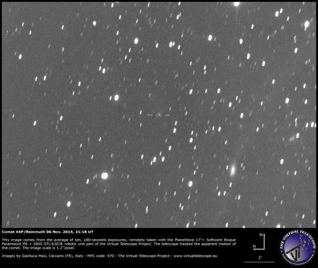 Comet 44P/Reinmuth: 06 Nov. 2015