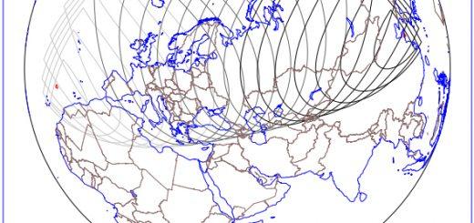 23 Dec. 2015 - Occultation of Aldebaran - Visibility (USNO)