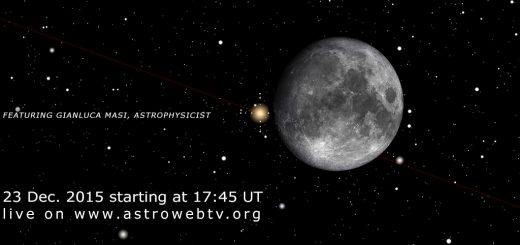 23 Dec. 2015, the Moon meets Aldebaran: online session
