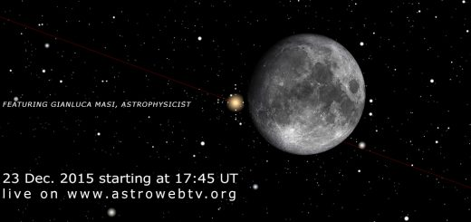 23 Dec. 2015, the Moon meets Aldebaran: online session