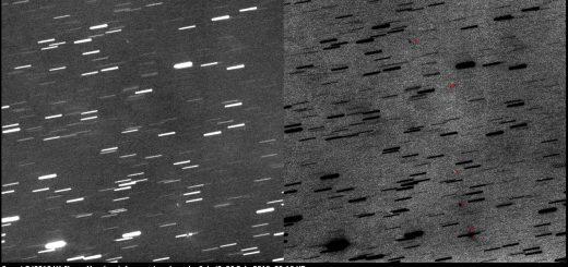Comet P/2010 V1 Ikeya-Murakami: fragments c, b, a, d, g?, h. i?. 26 Feb. 2016, 20:16 UT