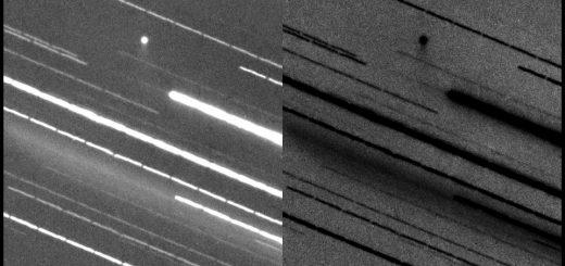 Comet P2016 BA14 Panstarrs shows a nice tail - 24 Mar. 2016
