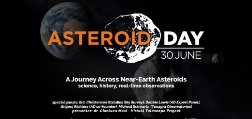 """""""Asteroid Day 2016"""": an official live event – poster"""