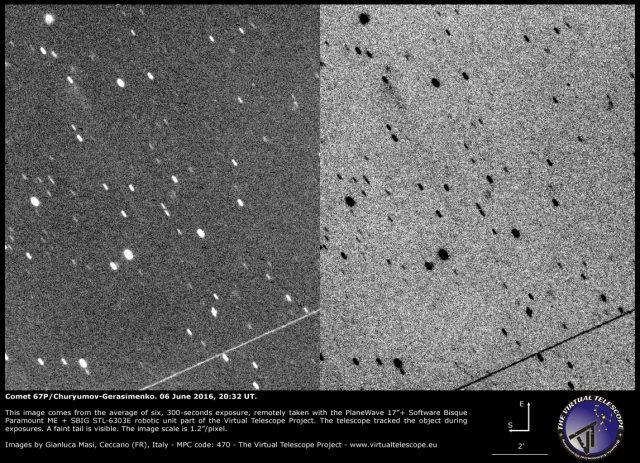 Comet 67P/Churyumov-Gerasimenko: 06 June 2016