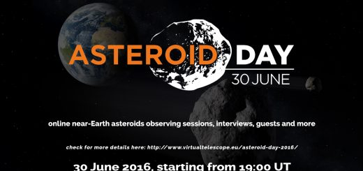 Asteroid day 2016 at Virtual Telescope Project